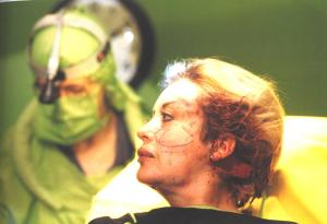 Orlan en el quirófano