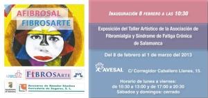 Invitación Exposición Afibrosal/ Fibrosarte